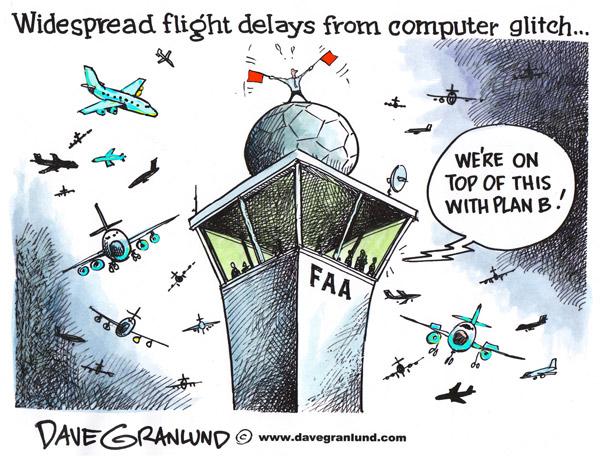 airport glitch comic